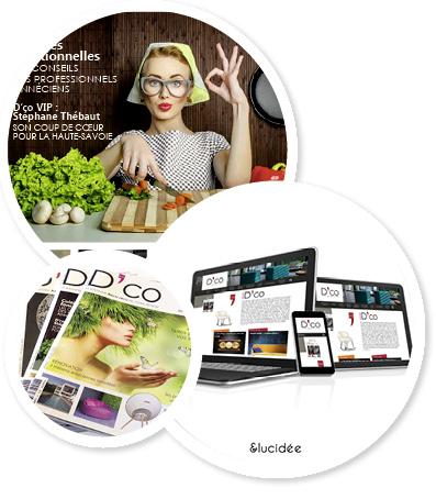 Magazine de décoration - Annecy