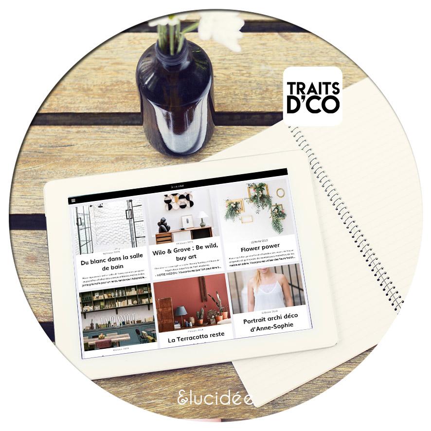Application magazine décoration