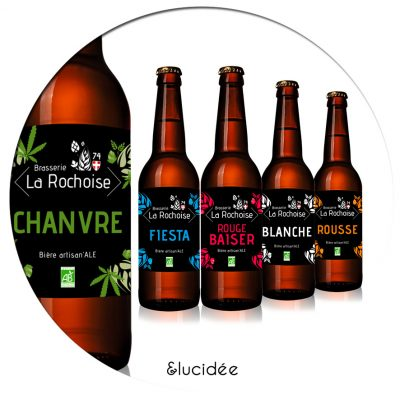 **&luci•dée•capsule des bières artisanales